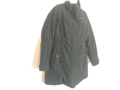 Marmot Women Long Jacket Coat XL 700 Fill Down Fil