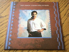 """PAUL SIMON - UNDER AFRICAN SKIES  7"""" VINYL PS"""