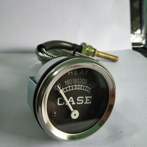Water-Temperature-Gauge-For-Case-Tractors-CAWA01-With-Chrome-Bezel