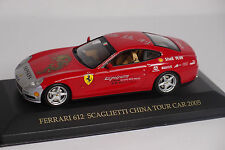 IXO FERRARI 612 SCAGLIETTI CHINA TOUR CAR 1:43