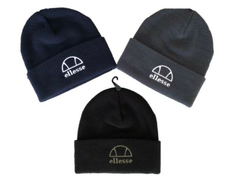 Colours Liri Blue Size black new Hat Beanie Various One Ellesse Cuffed qXHwWdzz