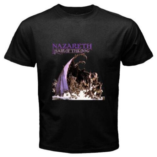 Nouveau Nazareth Hair Of The Dog Rock Band Legend Homme T-shirt noir taille S à 3XL