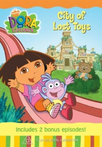 1 of 1 - Dora the Explorer DVD - City of Lost Toys_G rated kids show
