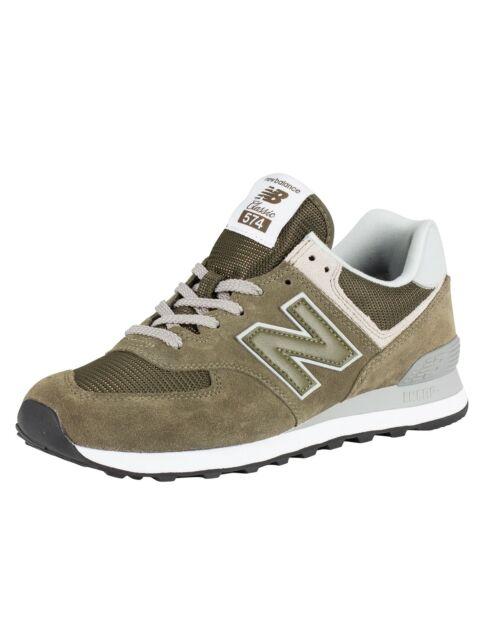 NEW Balance 574 Sneaker Herren Ego Olive UK 9.5