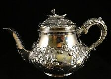 """Beautiful English Sterling Teapot by Crispin Fuller, London 1823. 8 5/8"""" wide"""