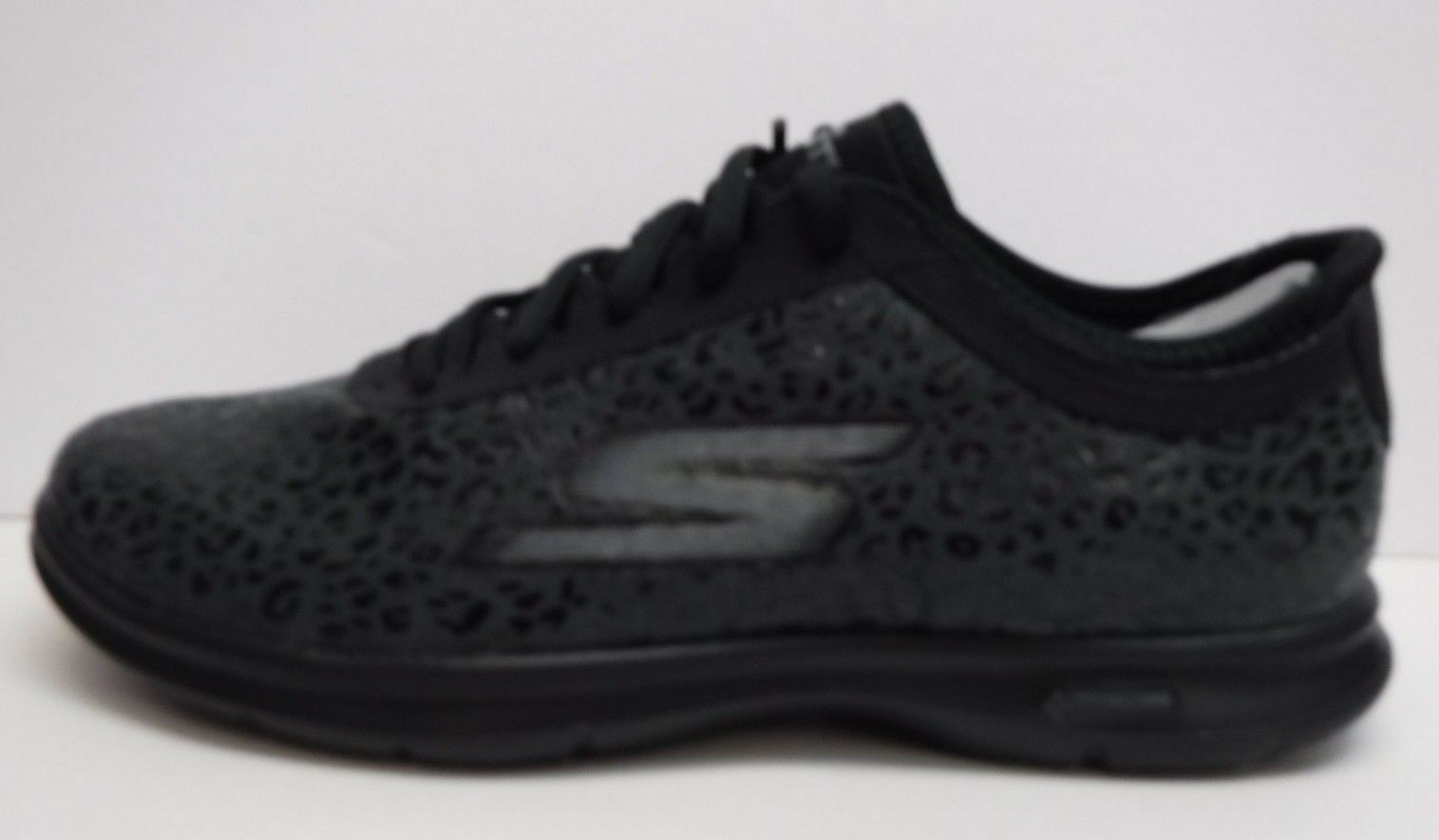 Skechers Size 7.5 Go Step Black Sneakers New Womens Shoes