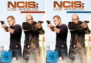 6 DVDs * NCIS: LOS ANGELES - SEASON 4 ( 4.1 + 4.2 ) IM SET ~ DIGI # NEU OVP +