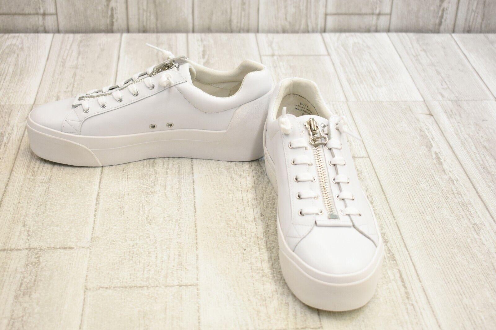 ASH Women's Buzz Lace-Up Casual shoes - White - Size 41 ( Size 11 )