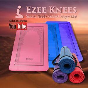 Ezee-kneez-SPORTS-grade-Rembourre-Prayer-MAT-10-mm-epaisseur-eponge-Islam-Musulman-Eid