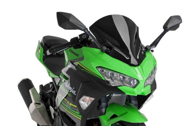 PUIG Racing Screen Kawasaki Ninja 400 18 Black
