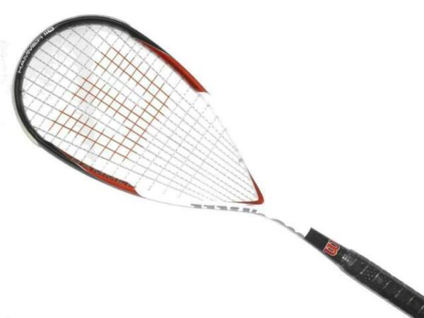 Dealer Warranty Reg $100 WILSON HAMMER Tech Pro squash racquet racket