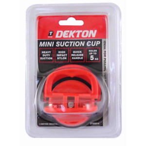 DEKTON SUCTION PADS 5kg Lifter Suction Screen Phone Glass Rubber Cup Tool