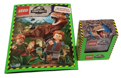 Leeralbum 50 Sticker Blue Ocean Lego Jurassic World Stickerserie 1x Display