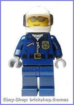 Lego Figur City (cty449) Polizist mit Helm - Police Officer Minifig - NEU / NEW