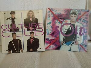 CULTURE CLUB / BOY GEORGE From Luxury.../Sold Greek edition LPs 80s POP