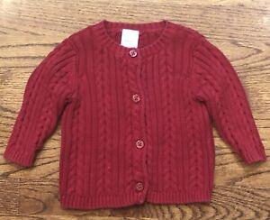 NWT Gymboree Girls Sweater Long Sleeve Knit Cardigan NEW