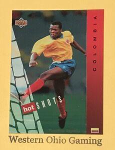 1994-World-Cup-USA-Faustino-Asprilla-HS6-Hot-Shots-Soccer-Card
