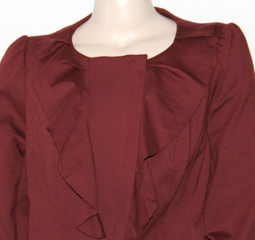 Ponte Internationalconcepts 0x Inc Spice Jacket Berry Front 766360821319 Plus Ruffle New Knit Y5WnwOY