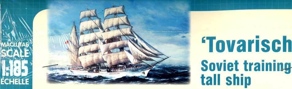 Arca Russo Formazione Ship Tovarisch Soviet Russiches Nave a Vela Aliante - 1
