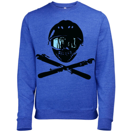 SKI SNOWBOARD MASK SKULL /& CROSSBONES DESIGN MENS PRINTED SWEATSHIRT JUMPER