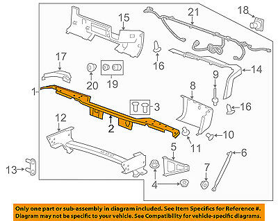 GM OEM-Rear Bumper 20899965
