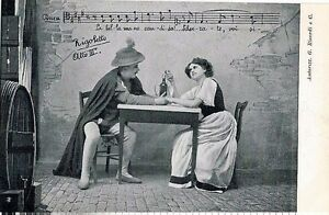 GIUSEPPE-VERDI-RIGOLETTO-Opera-Lirica-PC-Circa-1900-Rare-Opera-THEATRE-11