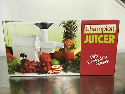 The champion classic single auger commercial juicer 2000 G5 PG 710 701842555351 | eBay
