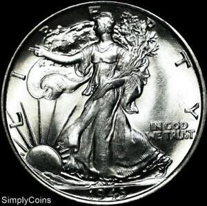 1943-Walking-Liberty-Silver-Half-Dollar-BU-Uncirculated-US-Coin-MQ