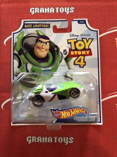 Buzz Lightyear 2//8 2019 Hot WheelsToy Story 4 Character Cars Mix B