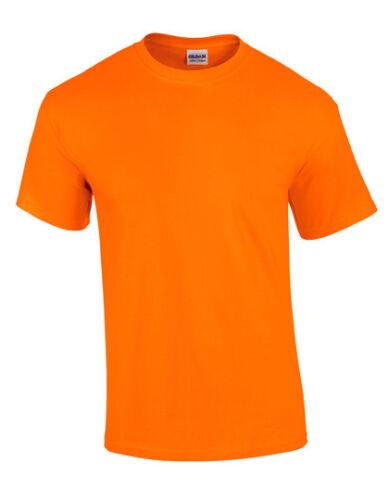Gildan Ultra Algodón Basic Camiseta S-5XL 200G//M ² Unicolor Manga Corta Blanko