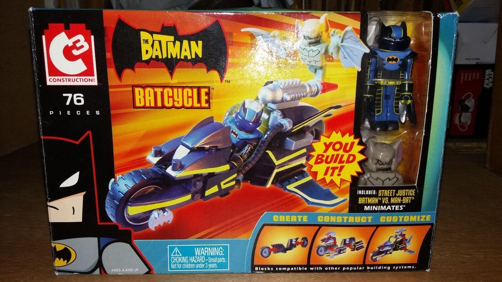 Batman minimates c3 batcycle mit manbat