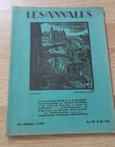 I Annali - N°2 - 15 Juillet 1928