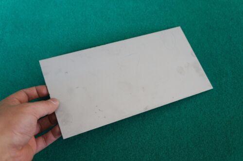 "3mm Thick Titanium 6al-4v Sheet .118/"" x 5/"" x 10/"" Grade 5 Plate Ti Gr.5 Metal"