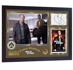Jason-Statham-film-signed-autograph-poster-print-photo-Framed