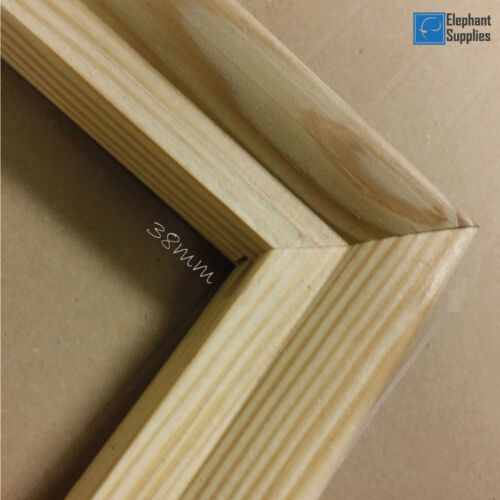 Canvas Frames Pine Wood 18mm /& 38mm Thick Canvas Stretcher Bars Sold By Pair