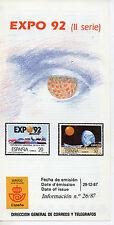 España Expo 92 Sevilla año 1987 (CV-835)