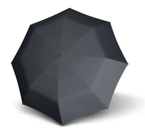 Knirps Parapluie Fiber T3 Duomatic Gents Print Black Stripes