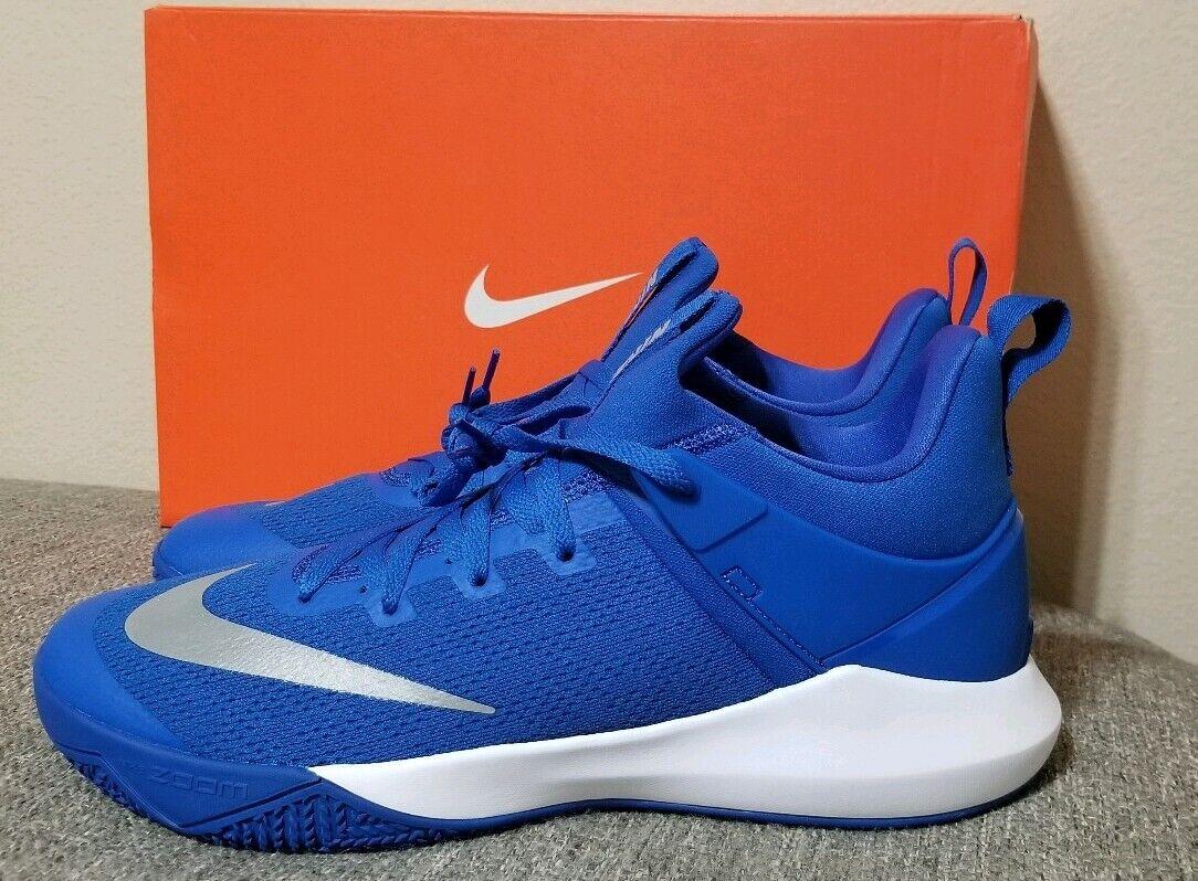 Nike Zoom Shift Basketball Shoe Royal