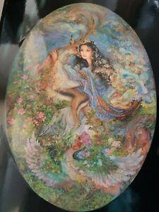 Objectif Panneau En Bois Imprimé Transfert Scène D'une Peinture Par Mahmoud Farschchian-afficher Le Titre D'origine Remises Vente