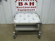25 X 23 34 Heavy Duty Mobile Stainless Steel Equipment Stand Base Table 2 1