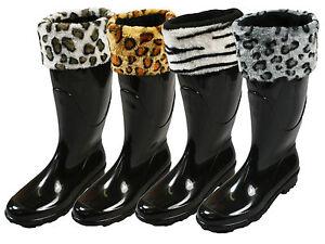 LADIES-WOMENS-WINTER-SOFT-COSY-FLEECE-PRINT-WELLINGTON-WELLIE-BOOT-SOCKS-LINERS
