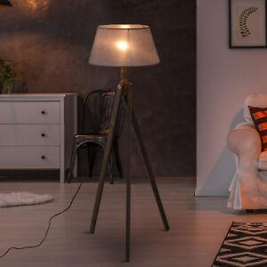 Homcom Free Standing Floor Lamp Bedside Light Tripod Holder Storage