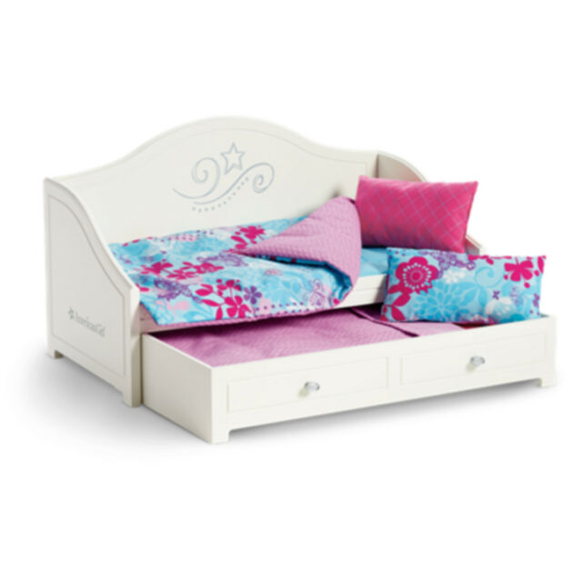 American Tm Trundle Bed Bedding Set For 18 Dolls Brand New