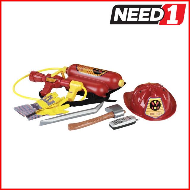 KLEIN 7pc Kids Toy Fireman Set