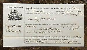 ORIGINAL-HARBOR-of-PROVIDENCE-RHODE-ISLAND-SHIP-039-S-BILL-OF-LADING-JUL-31-1848