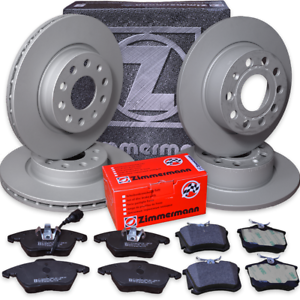 AUDI A4 8E2//B6 2,0 TDI komplett Bremsen Set Zimmermann Bremsscheiben Beläge