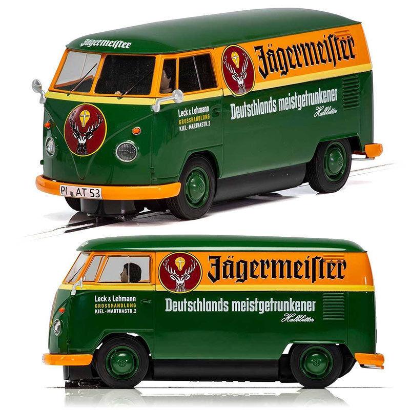 SCALEXTRIC Digital ARC Pro Slot Car C3938 Volkswagen Panel Van Jagermeister