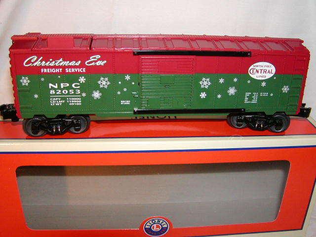Lionel 682053 Christmas North Pole Central Lines Ice auto  82053 O 027 nuovo 2015