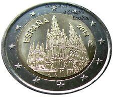 Pièce 2 euros ESPAGNE 2012 - Cathédrale de Burgos - UNC - Neuve