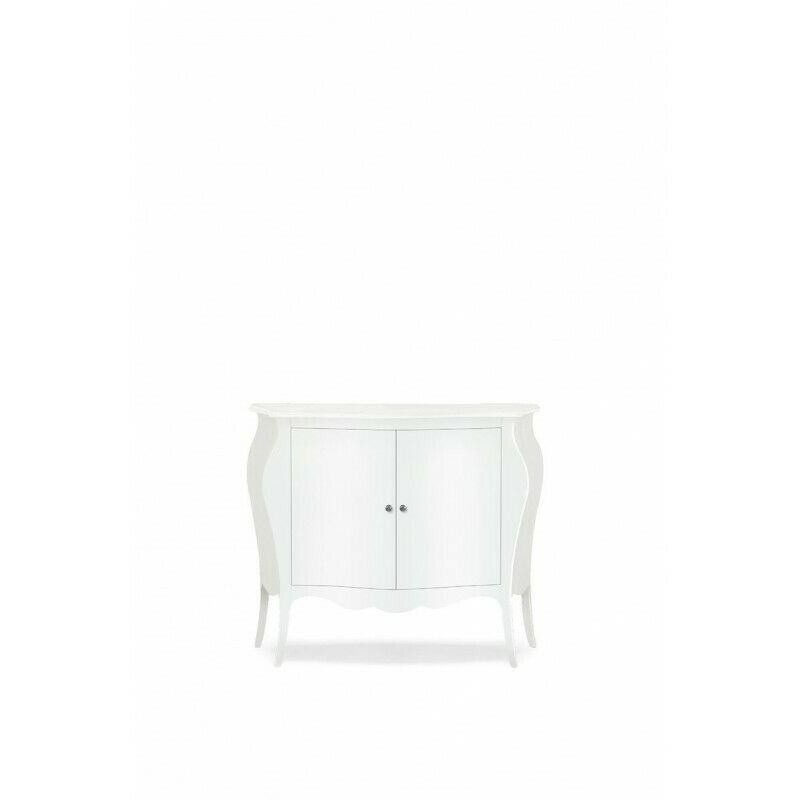 Dresser 'redondeado 2 Puertas Blanco Mate